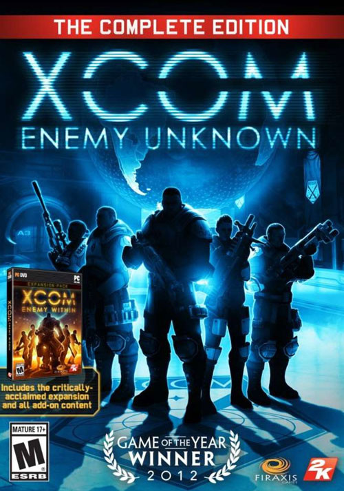 XCOM: Enemy Unknown - The Complete Edition - Cover