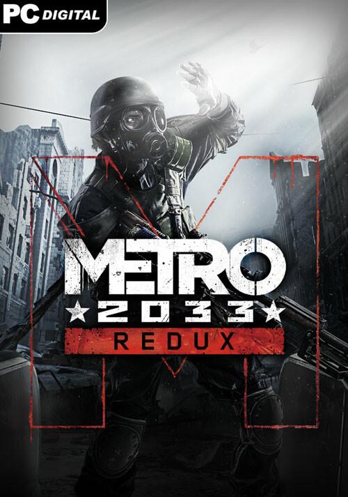 Metro 2033 Redux - Cover