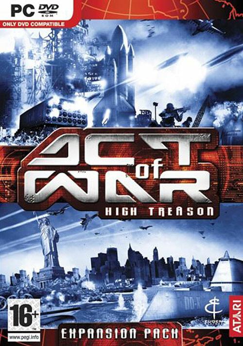 Act of War: High Treason - Cover