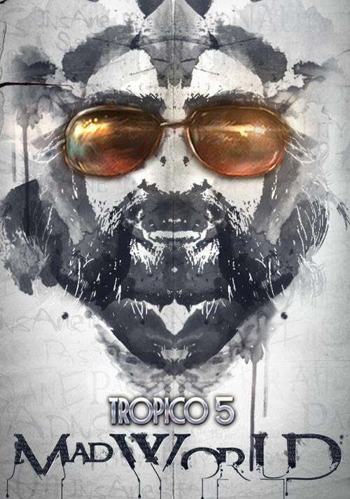 Tropico 5 – Mad World DLC - Cover