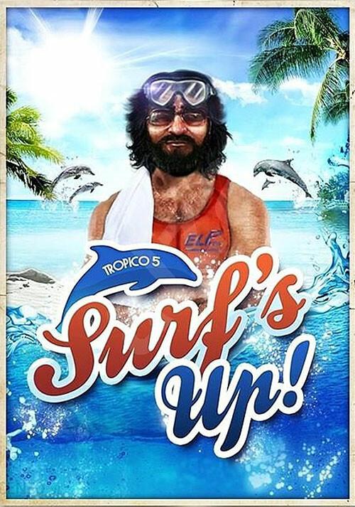Tropico 5 – Surfs Up! DLC - Cover