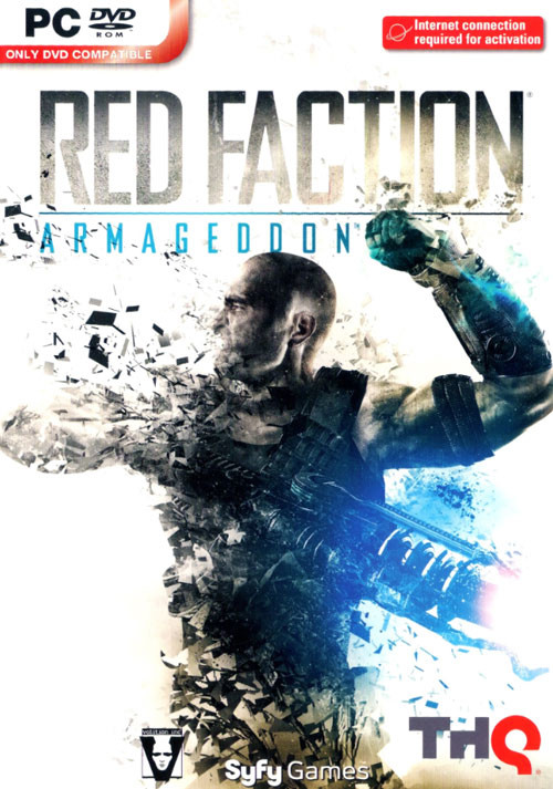 Red Faction: Armageddon - Cover