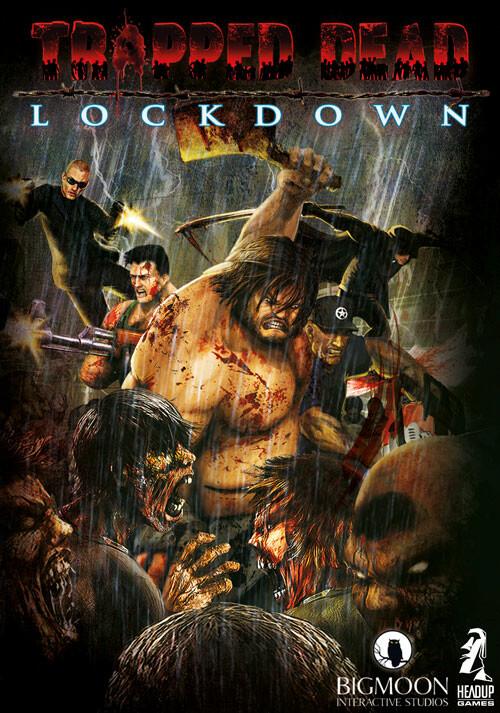 Trapped Dead: Lockdown - Cover