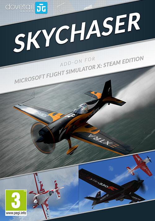 Microsoft Flight Simulator X: Steam Edition: Skychaser Add-On - Cover