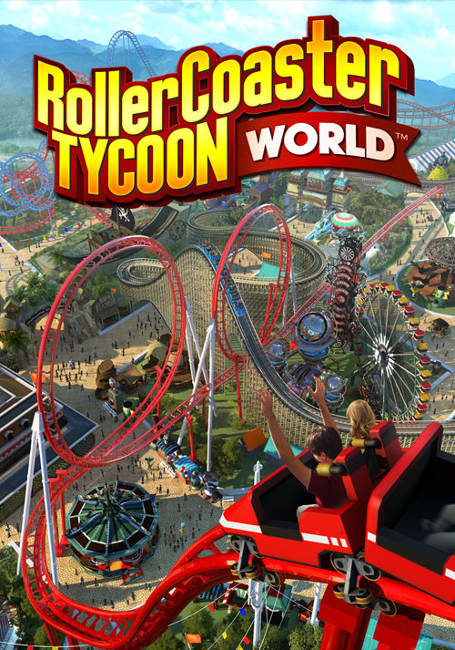 RollerCoaster Tycoon World - Cover