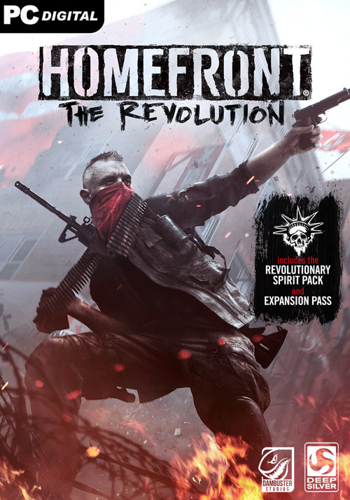 Homefront: The Revolution Freedom Fighter Bundle - Cover