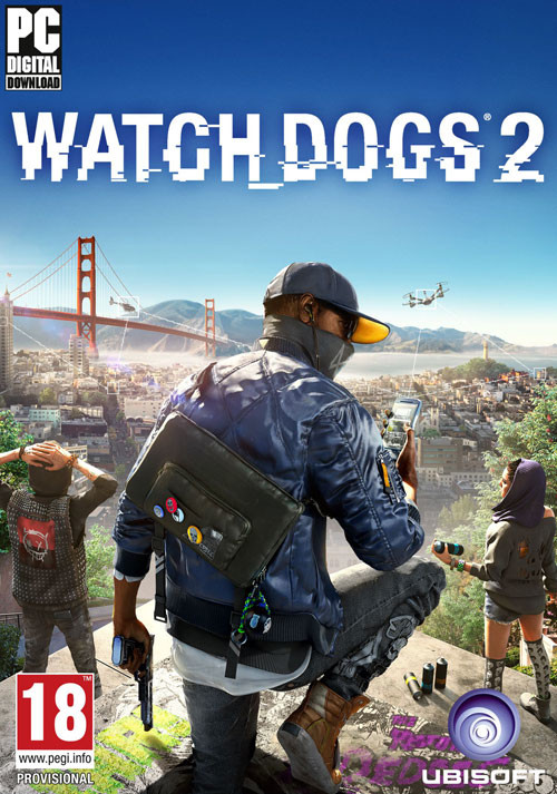 Watch_Dogs 2 - Cover