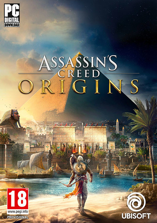 Assassin's Creed Origins - Cover