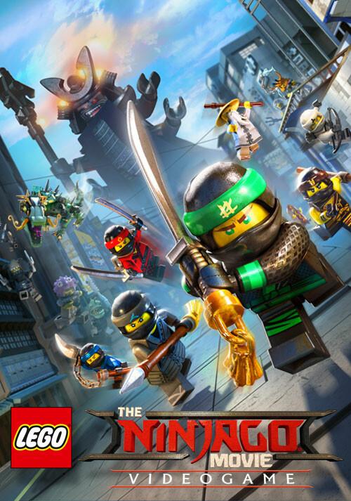 The LEGO Ninjago Movie Videogame - Cover