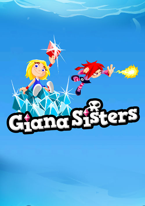 Giana Sisters 2D - Cover