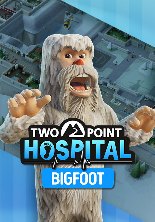 Two Point Hospital: Bigfoot - Cover