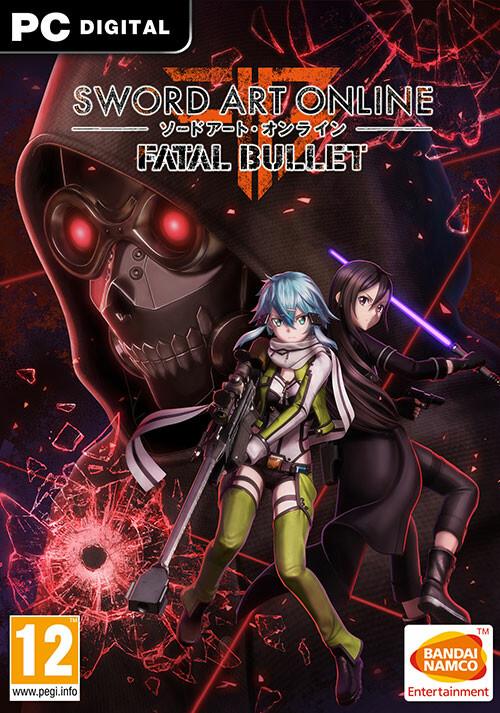 SWORD ART ONLINE: Fatal Bullet - Cover