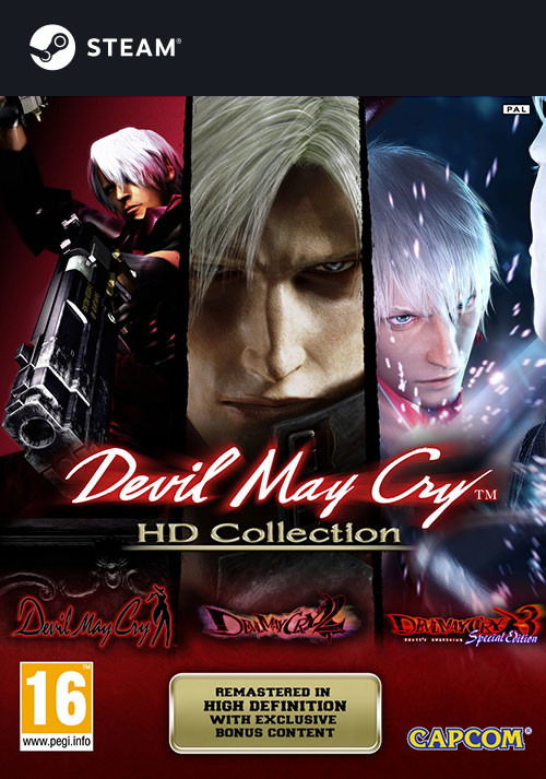 Devil May Cry HD Collection - Cover