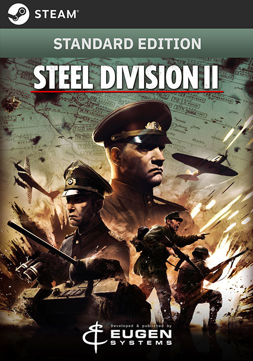 Steel Division 2 - Cover